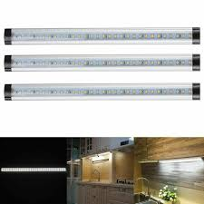 counter kitchen cabinet lights 3pcs led cabinet lighting 18w 1440lm l kit kitchen counter cool white