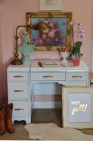 painting a desk white diy white lacquer desk and tween room progress life in grace