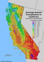 Fresno Ca Zip Code Map California Precipitation Map California Map