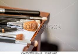 Makeup Artist Station Beautiful Playing Violin On Sea Stock Photo 35055463