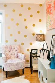 best 25 gold dot wall ideas on pinterest polka dot nursery i wonder if there are vinyl stickers like this it d be perfect for