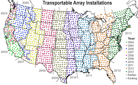 Interactive Maps Usarray Maps And Schedules