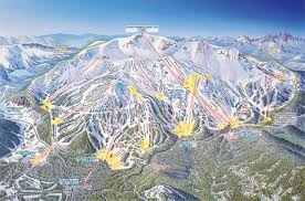 Map Of Mountains In United States by Mammoth Mountain Ski Resort Guide Location Map U0026 Mammoth Mountain