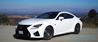 lexus rcf blue the lexus rc f needs an attitude adjustment slashgear