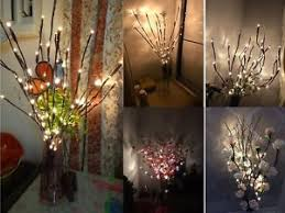 decorative branches with lights 2 led branches battery power decorative lights twig light christmas