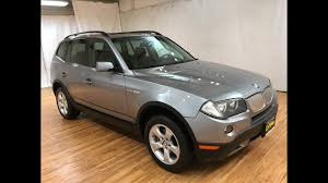 2007 bmw x3 3 0si awd panorama moonroof carvision youtube