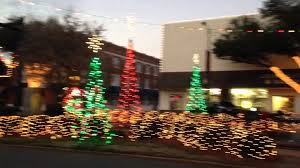 christmas lights in forest city nc youtube
