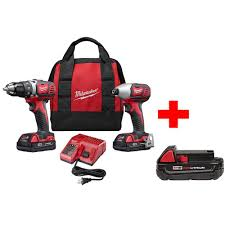 black friday milwaukee tools home depot milwaukee m18 18 volt lithium ion cordless drill driver impact