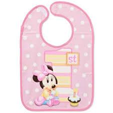birthday bib minnie mouse 1st birthday bib 1st birthday party supplies