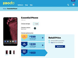 Telus Black Friday Iphone 6 6 Plus Various Deal Essential Phone Now Available For Cad 460 On Koodo Telus