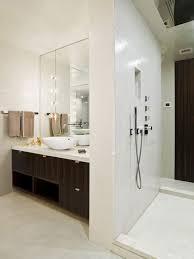 apartment casual white nuance bathroom decoration interior design