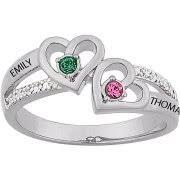 mothers infinity ring mothers day rings