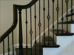 Iron Banister Wrought Iron Railings Mitre Contracting Inc