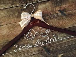 personalized wedding hangers the 25 best hanger ideas on name hangers