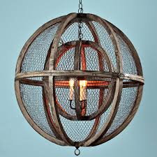 chicken wire chandelier rustic editonline us