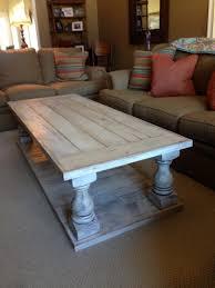 coffee table diyfee table remodelaholic simple wood slab plans