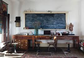 cozy workspaces home offices with a rustic touch