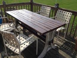 2x4 Outdoor Furniture by 2x4 Basics Anysize Patio Table Set U2014 Model 90152mi 2x4 Basics