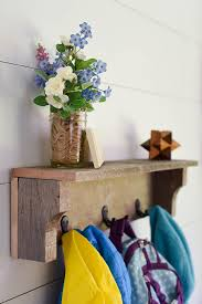 rustic coat rack from pallet wood our handcrafted life