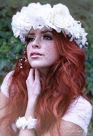 flower for hair white flower hair wreath