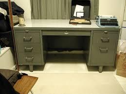 Metal Desk Vintage Fuzzysquid Inky Says Poopie