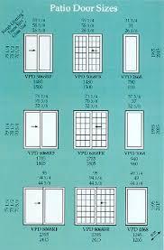 Patio Door Sizes Vpatiosizes Jpg