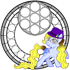 mlp stained glass coloring book by akili amethyst on deviantart