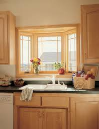 plain kitchen sink bay window treatments for lovely design i