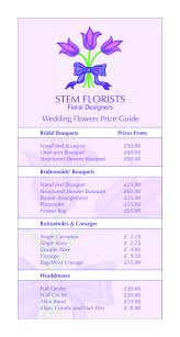 awesome wedding flowers prices wedding flowers wedding flowers