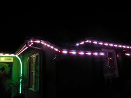 permanent led christmas lights permanent digital led house holiday lighting