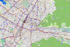 Freiburg Germany Map by City Maps Freiburg