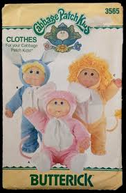 Cabbage Patch Kids Halloween Costume 187 Costumes Images Sewing Patterns Vintage