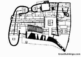 notre dame du haut floor plan visions arquitectòniques ronch le corbusier