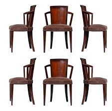 art deco dining table art deco dining table with five chairs by