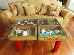 22 unique and creative ideas for creating coffee tables and end
