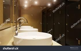 public restroom 3d render stock illustration 632670086 shutterstock