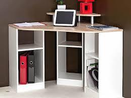 bureau d angle avec surmeuble bureau informatique blanc laqué unique bureau laqué choix de bureau