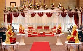 mandap decorations fiber wedding mandap decoration with stage ganesha buy fiber