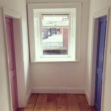 Painting Interior Doors by Colourful Interior Doors Farrow And Ball Cooks Blue And Cinder