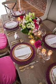 Pink And Gold Table Setting by Rosy Outlook Pink Wedding Inspiration Palette Profile The