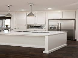 Modern White Kitchen Cabinets by White Kitchen Cabinets With Stainless Steel Appliances White