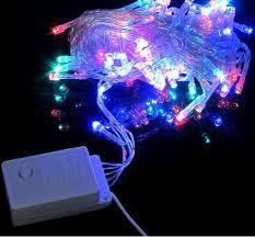 ip65 led tree lights string lights 10m 6w multi