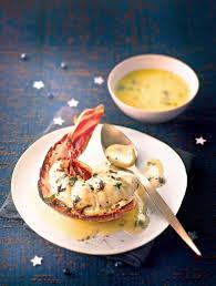 cuisiner une langouste recettes de queues de langouste de noël