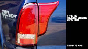 2016 toyota tacoma tail light torcia 05 15 toyota tacoma tail light 4pcs youtube