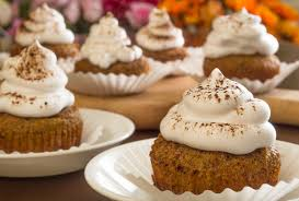 these spice cupcakes are bursting with flavor