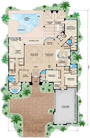 covered lanai mediterranean house plan with photos coastal contemporary style