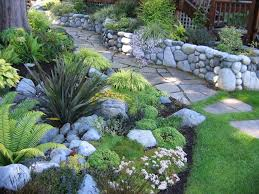 13 best rock walls for gardens images on pinterest rock wall
