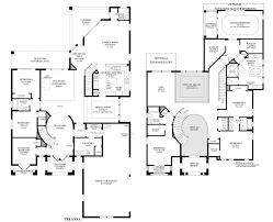 Spanish Floor Plans Home Designs Toll Brothers Las Vegas Toll Brothers Floor Plans