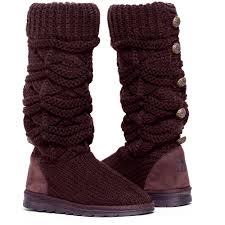 womens knit boots muk luks womens knit boot walmart com