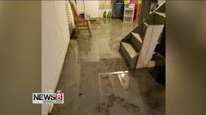 days of rain causing basement flooding all over the state youtube